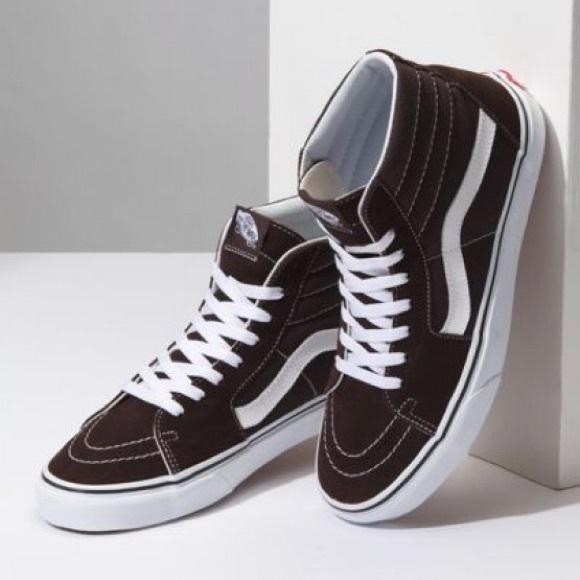 f5676e4bfde Vans Shoes | Sk8hi Chocolate Torte | Poshmark